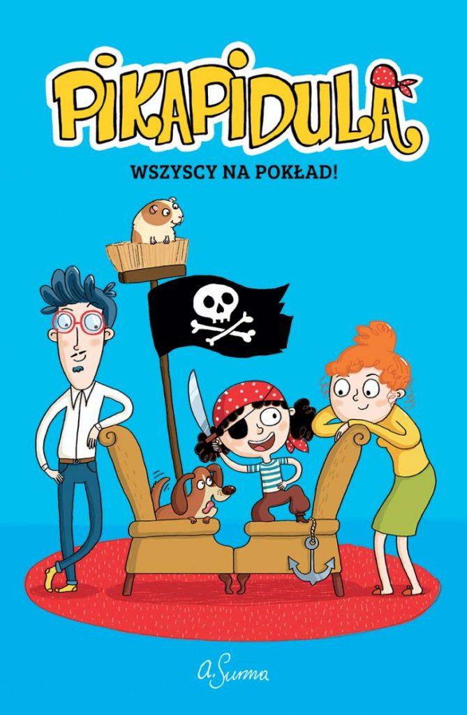 pikapidula - okładka powieści graficznej