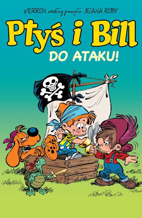 komiksy dla dzieci - ptyś i bill