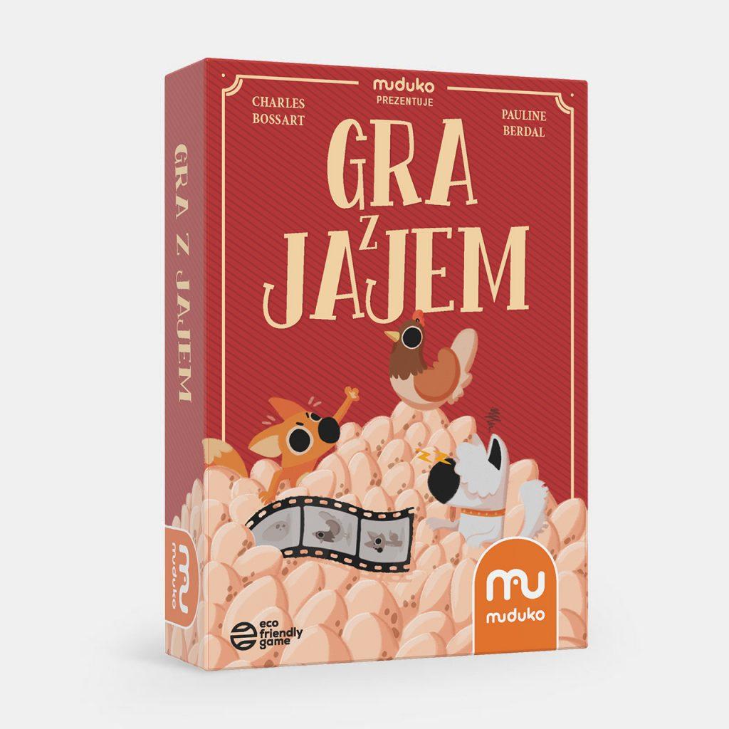 Gra z Jajem – MUDUKO - gry karciane dla dzieci