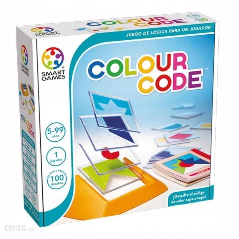 Colour Code – SMART GAMES - Gry planszowe dla dzieci