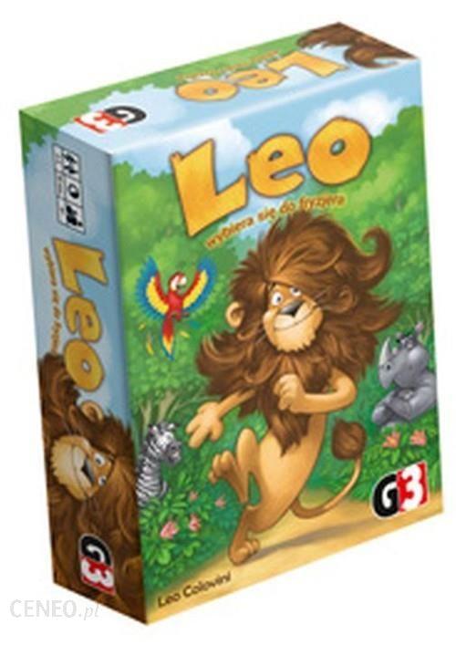 Leo wybiera się do fryzjera – G3 - Gry planszowe dla dzieci