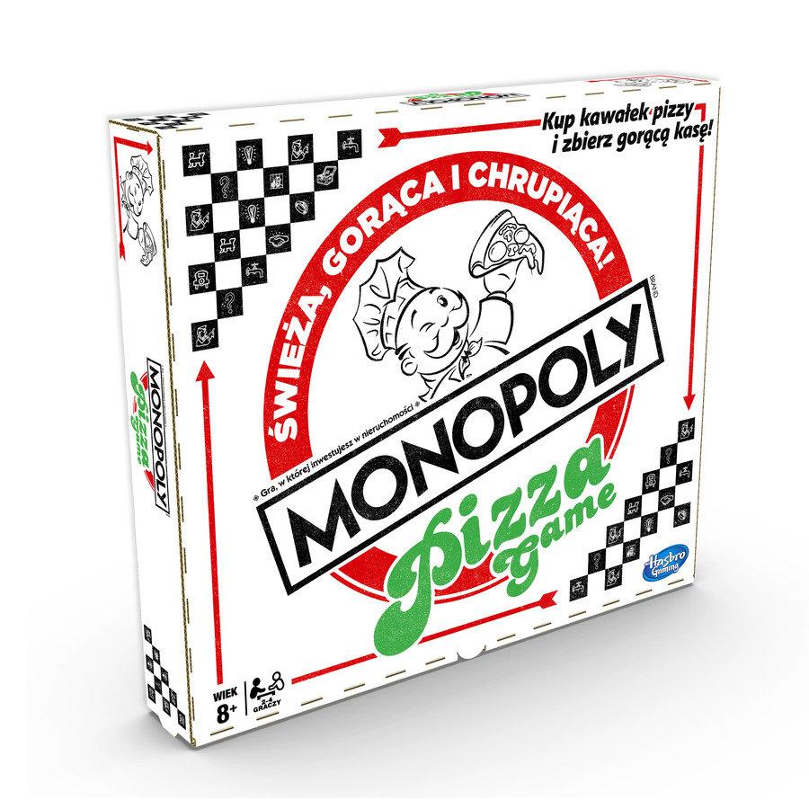 Monopoly Pizza – HASBRO - Gry planszowe dla dzieci