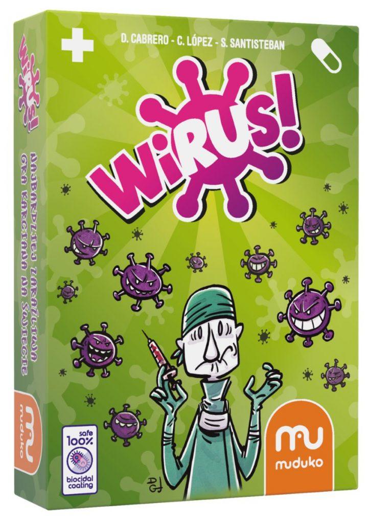 Wirus – gra karciana, MUDUKO - gry karciane dla dzieci