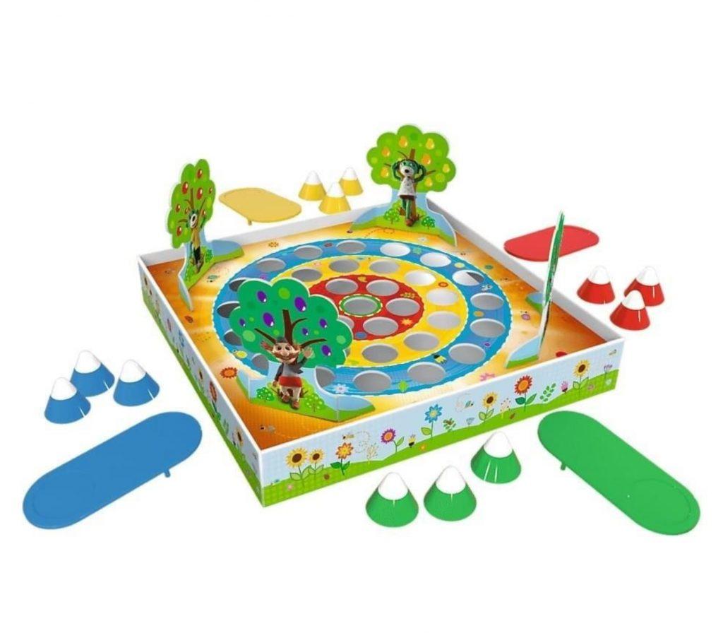 gry zręcznościowe dla dzieci - skoczki