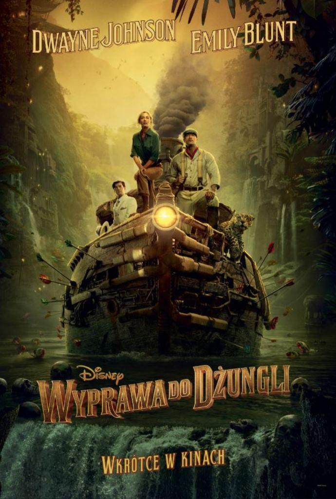 premiery kinowe 2021 - plakat filmu - wyprawa do dżungli