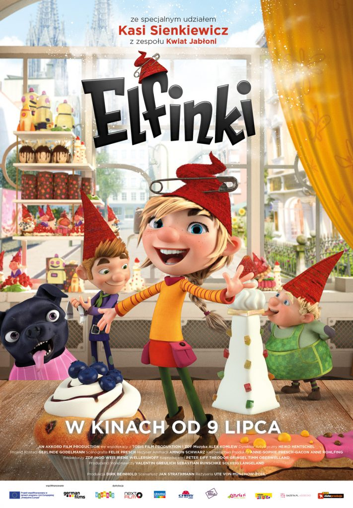 plakat filmu - elfinki