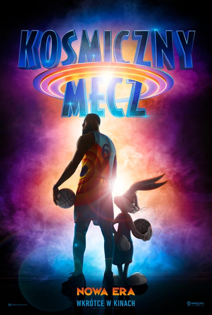 premiery kinowe 2021 - plakat filmu - kosmiczny mecz 2