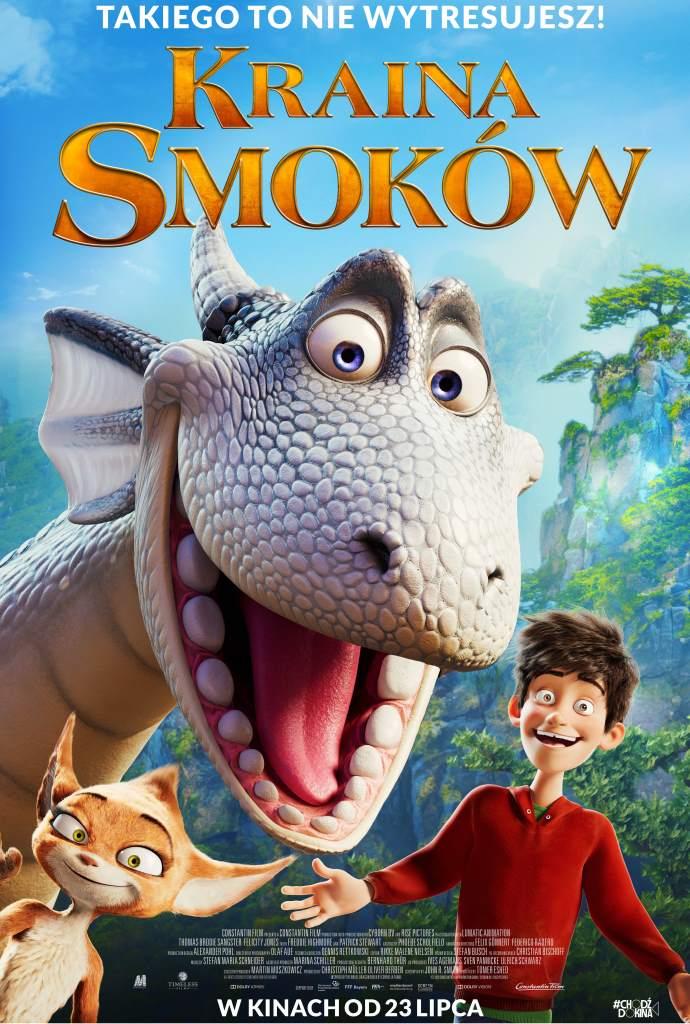 plakat filmu - kraina smoków