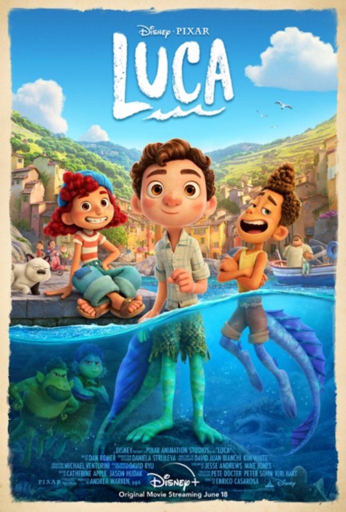 premiery kinowe 2021 - plakat filmu - luca