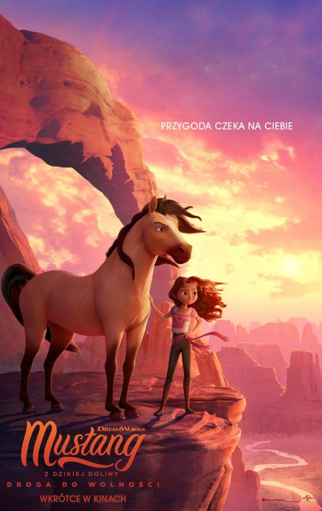 plakat filmu - mustang z dzikiej doliny
