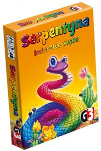 Serpentyna. Kolorowe węże - w co grać z dziećmi