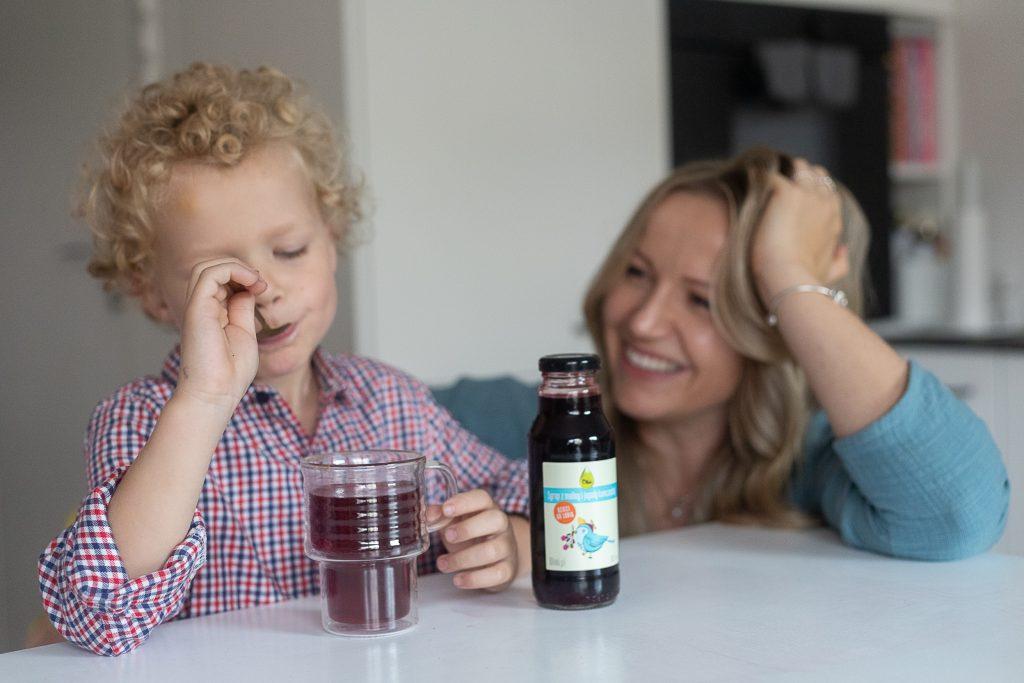 co na odporność dla dzieci - sok z jagody kamczackiej