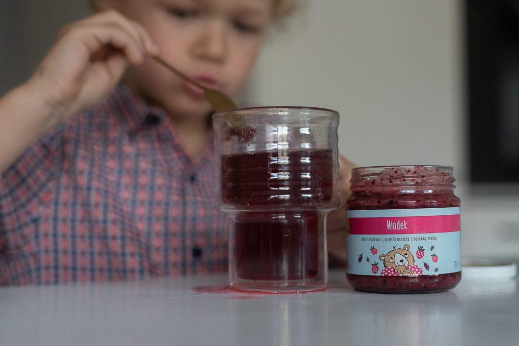 miodek olini na odporność dla dzieci