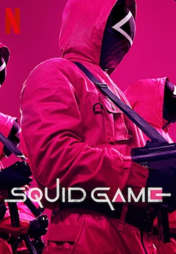 squid game - najlepsze seriale netflix
